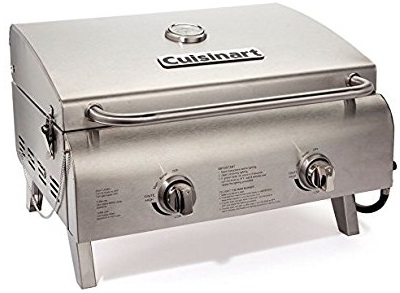 Top Best Cuisinart CGG-306 Chef's Style Stainless Tabletop Grill of 2018