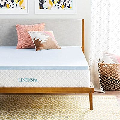Buy Linenspa 2 Inch Gel Infused Memory Foam Mattress Topper