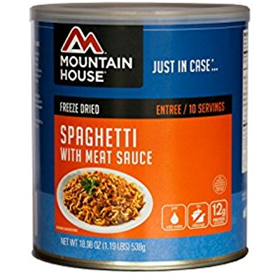 Buy Mountain House - Spaghetti with Meat Sauce