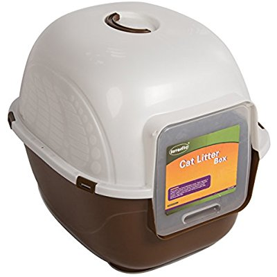 Buy Favorite Portable Side Enter Covered Cat Litter Box