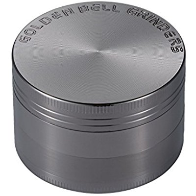 Buy Golden Bell 4 Piece 2 Spice Herb Grinder