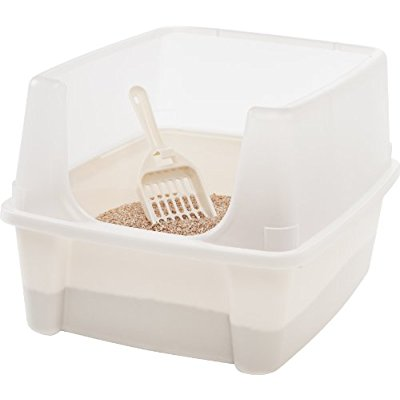Buy IRIS Cat Litter Box with Scoop