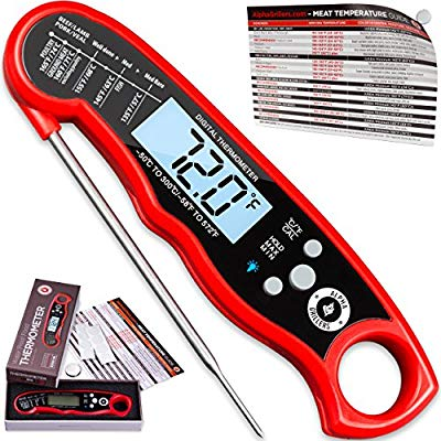 Buy Alpha Grillers Instant Read Meat Thermometer