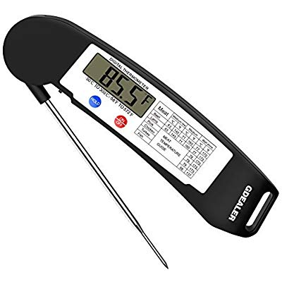 Buy GDEALER Instant Read Thermometer Super-Fast Digital