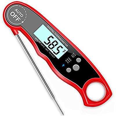 Buy GDEALER Waterproof Digital Meat Thermometer