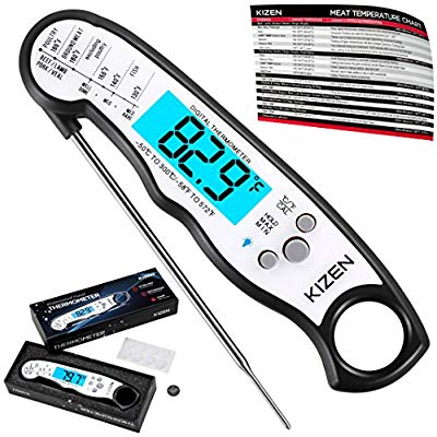 Buy Kizen Instant Read Meat Thermometer
