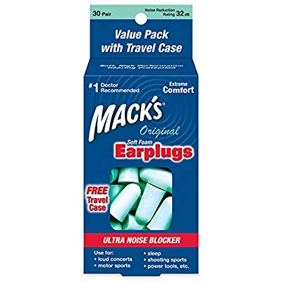 Buy Mack's Original Soft Foam Earplugs, 30 Pair Value Pack