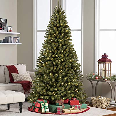 Buy Best Choice Products 6FT Pre-Lit Premium Spruce Hinged Artificial Christmas Tree