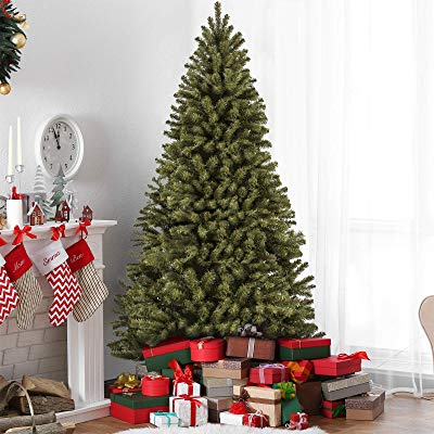 Buy Best Choice Products 7.5ft Premium Spruce Hinged Artificial Christmas Tree