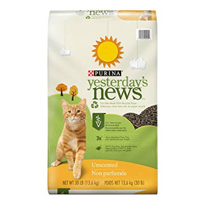 Buy Purina Yesterday's News Unscented Paper Cat Litter