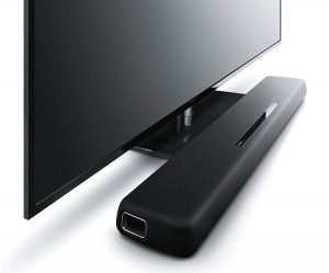 Buy Yamaha YAS-107BL Sound Bar with Dual Built-In Subwoofers